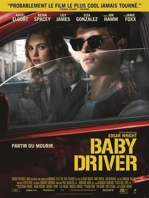 Baby Driver – Edgar Wright affiche du film