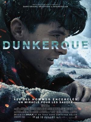 Dunkerque Christopher Nolan - affiche du film