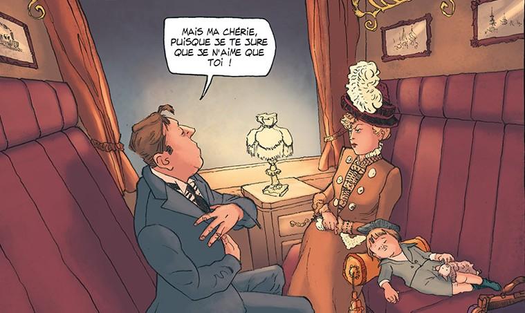 Sacha Guitry, une vie en bande dessinée : delcourt