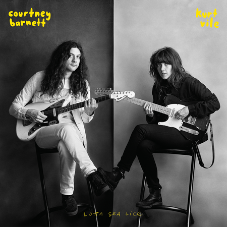 Courtney Barnett & Kurt Vile cover album