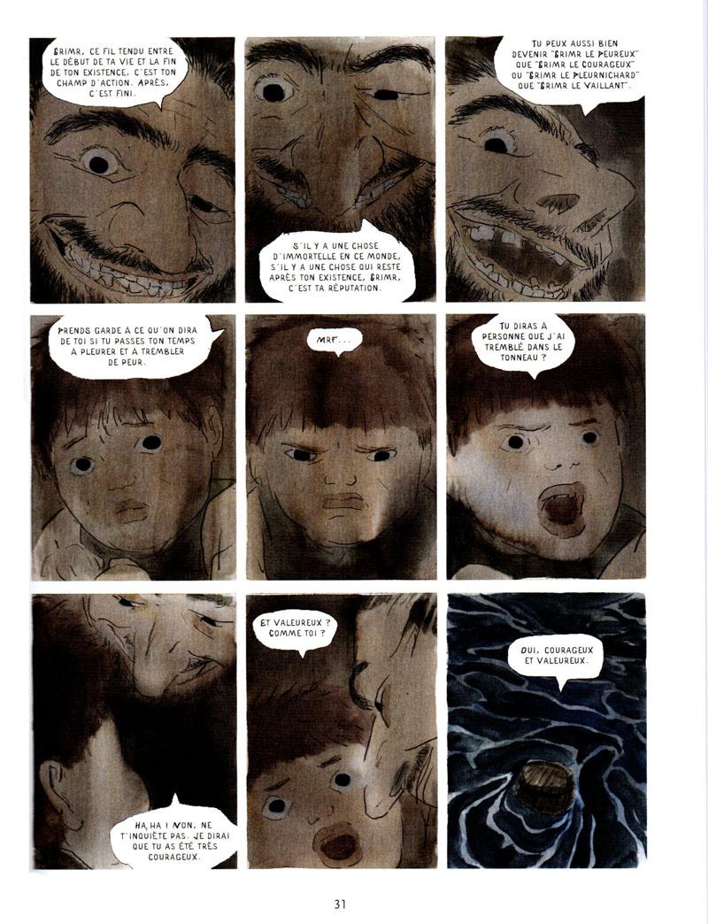 La Saga de Grimr – Jérémie Moreau