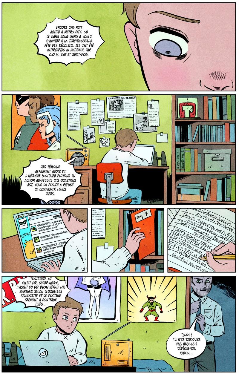 Plutona, comics chez Futuropolis de Lemire, Lenox