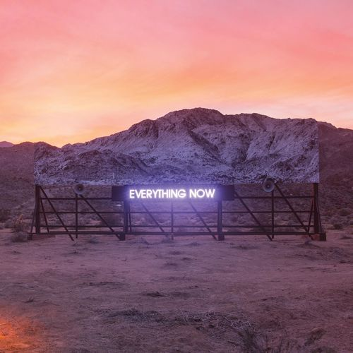Arcade Fire – Everything Now cover album