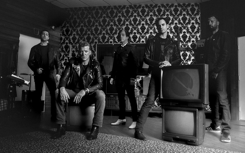queens of the stone age photo presse 2017