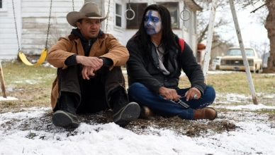 Wind River : Photo de Jeremy Renner et Jon Bernthal