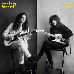 Courtney Barnett & Kurt Vile - Lotta Sea Lice cover album