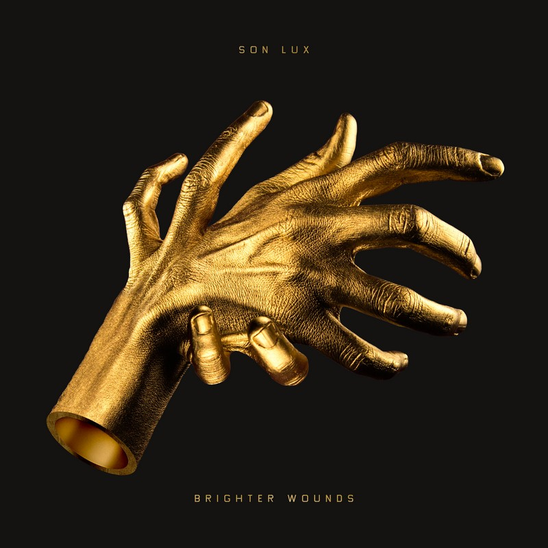 Son Lux Brighter Wounds cover album