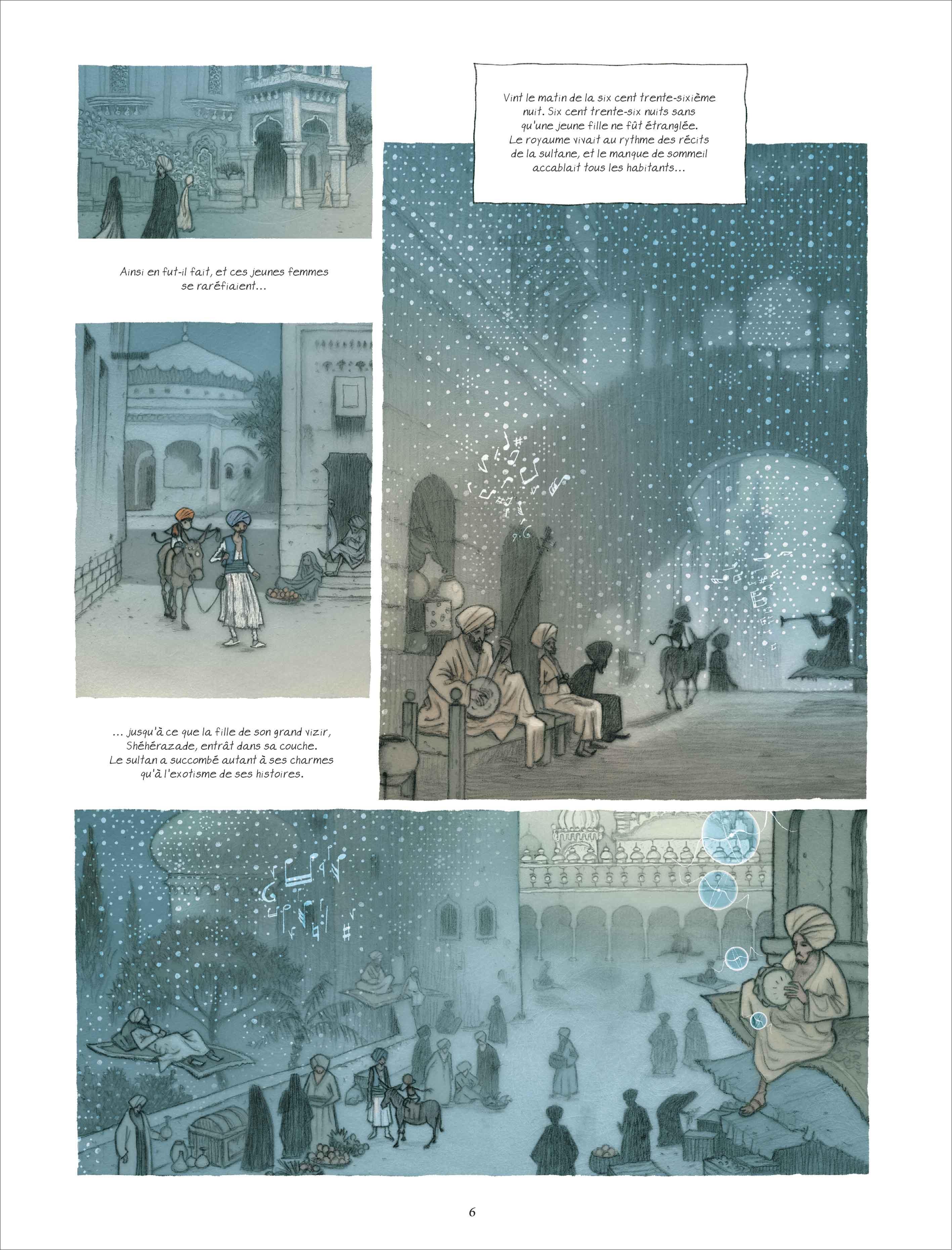 La Mille et Unième Nuit – Etienne Le Roux & Vincent Froisssard