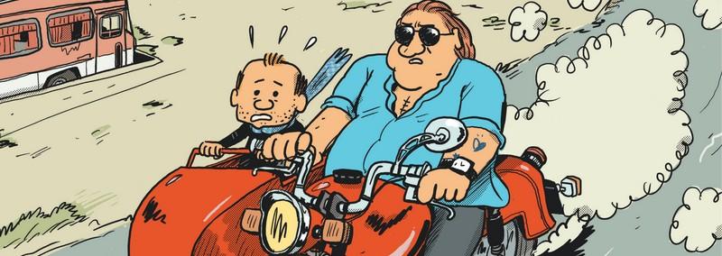 Gérard, cinq années dans les pattes de Depardieu – Mathieu Sapin