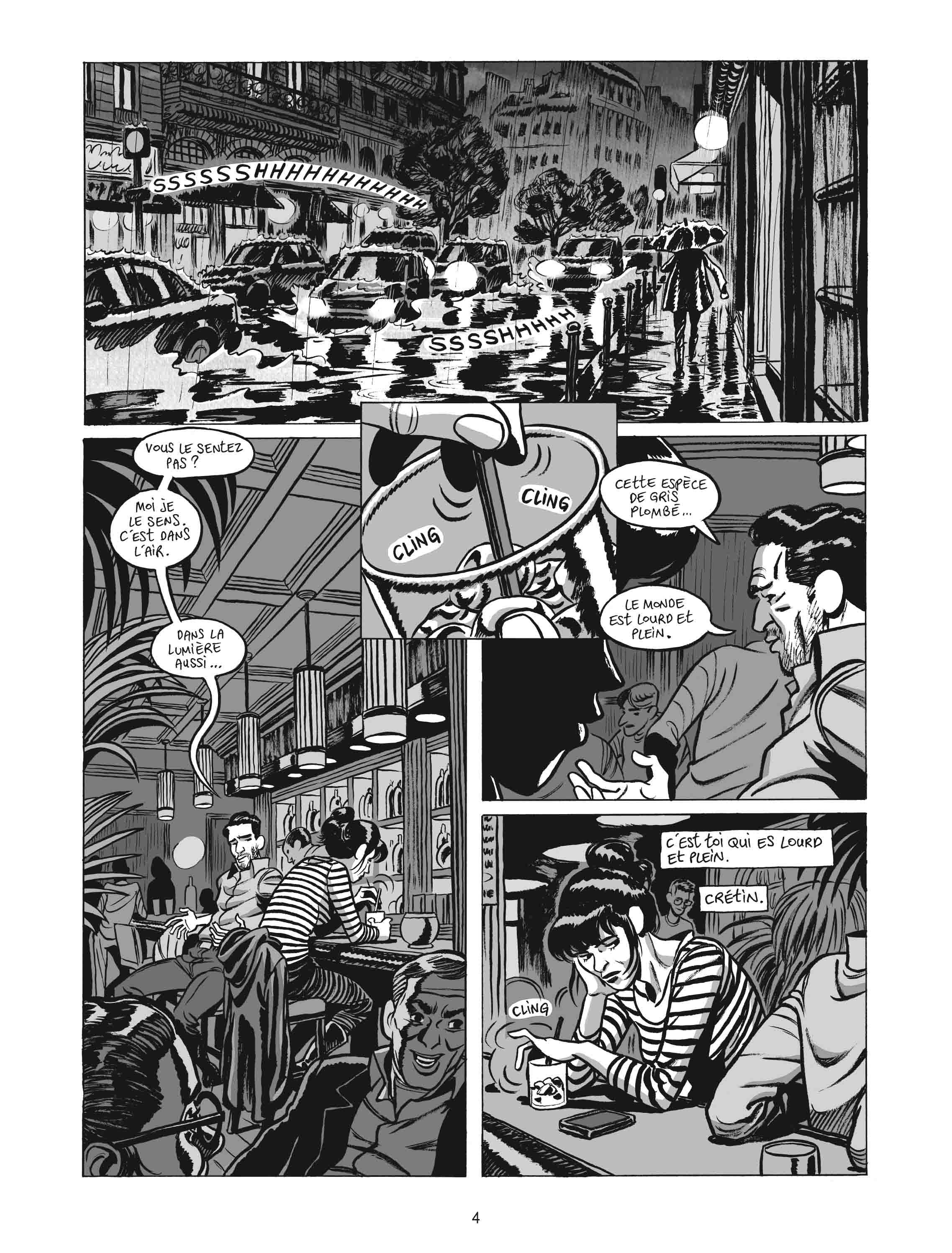 L'Homme gribouillé – Serge Lehman & Frederik Peeters