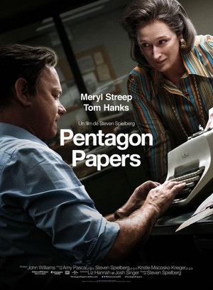 Pentagon Papers : affiche du film