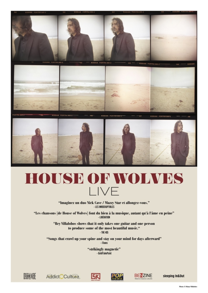 tournée de Gareth Dickson et House of Wolves