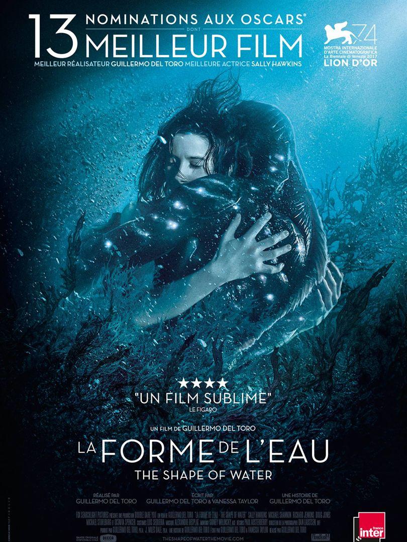 La Forme de l'eau - The Shape of Water : Affiche