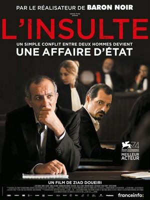 L'Insulte : Affiche du film