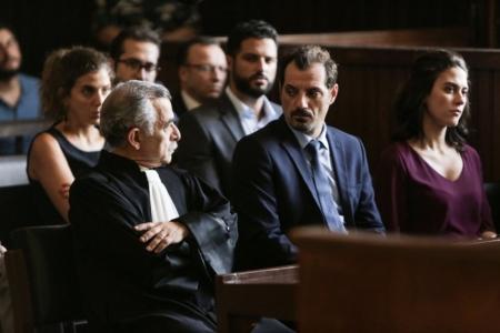 L'Insulte : Photo Adel Karam, Camille Salamé