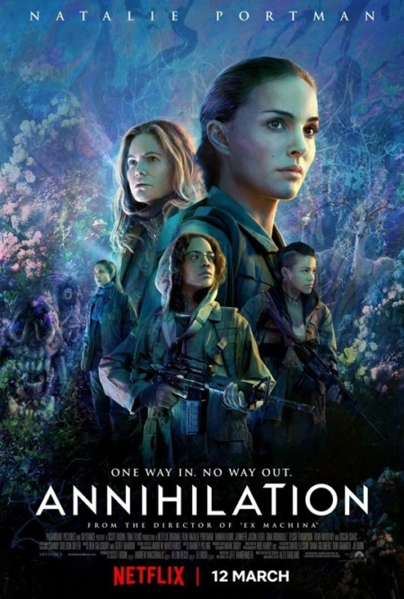 Annihilation affiche film