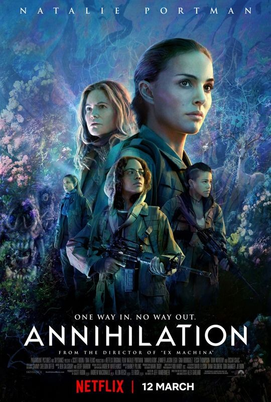 Annihilation affiche film