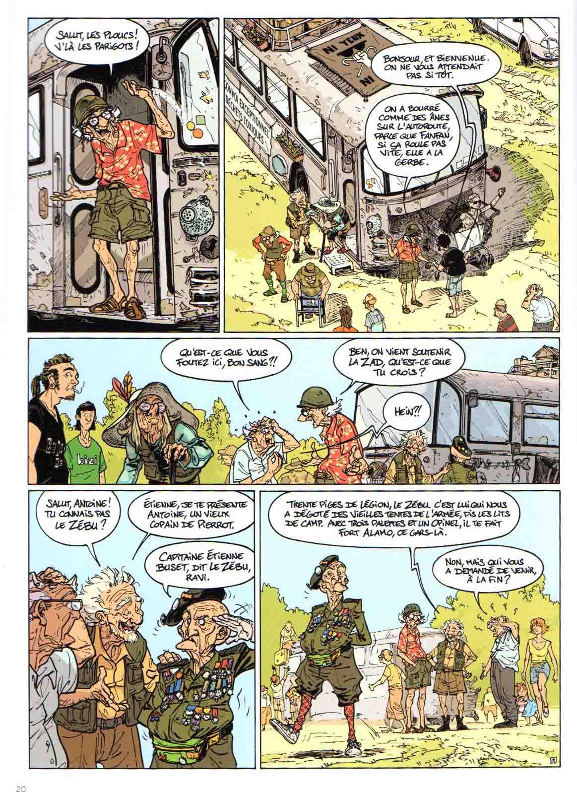 Les Vieux Fourneaux t.4 : La magicienne – Lupano & Cauuet