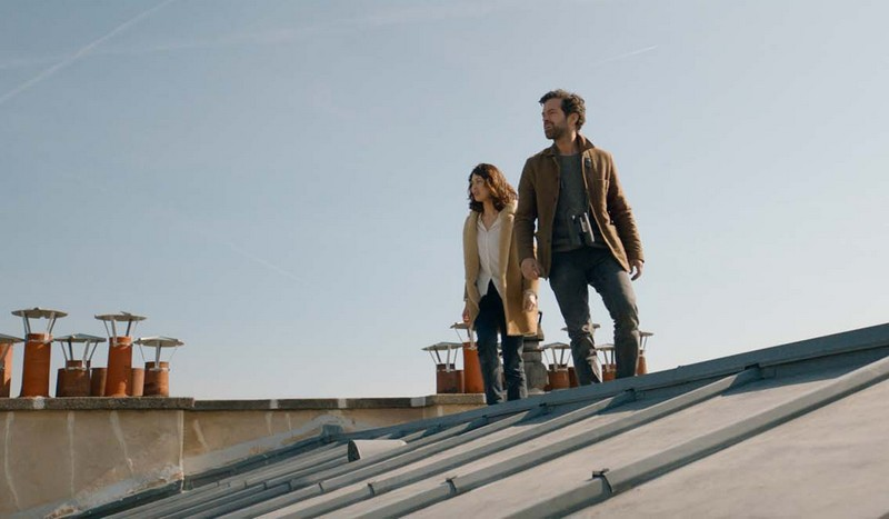Dans la brume : Photo Olga Kurylenko, Romain Duris