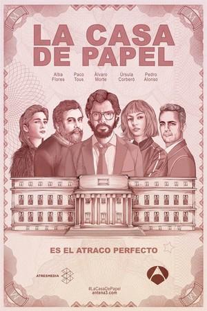La Casa de Papel affiche