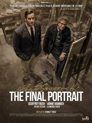 Alberto Giacometti, The Final Portrait : Affiche