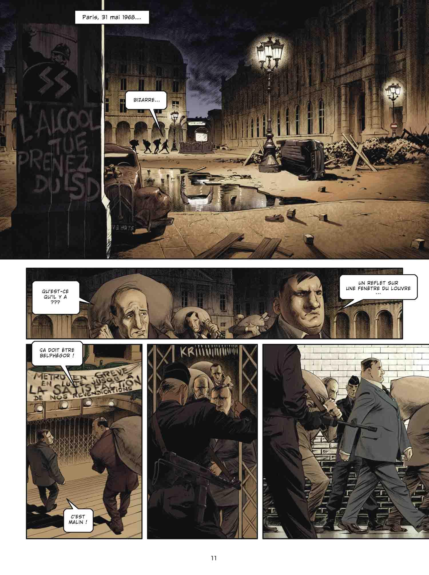 Jour J Edition spéciale : Mai 68 - Jean-Pierre Pécau/Fred Duval/Mr Fab