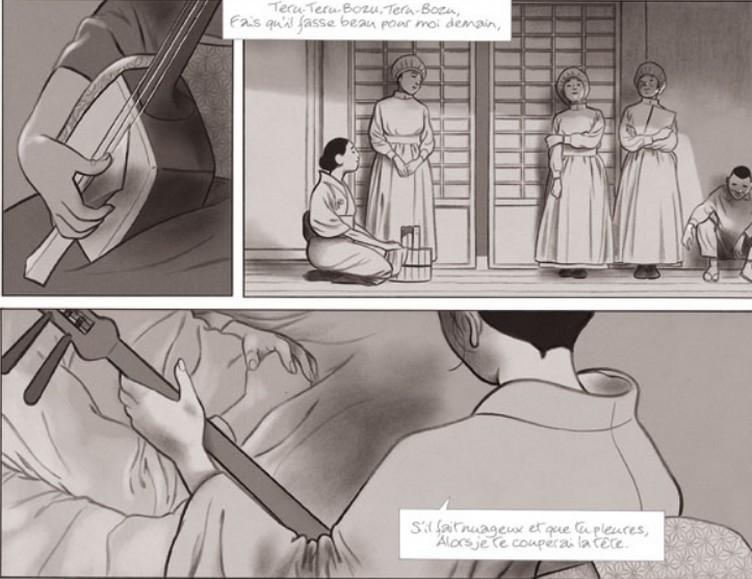Geisha - le jeu du shamisen - Tome 2