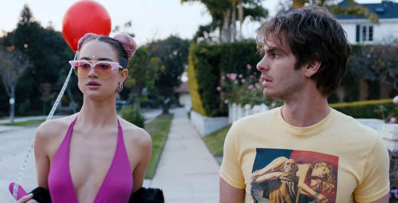 Under The Silver Lake Photo Andrew Garfield Grace Van Patten