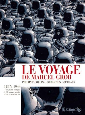 Le voyage de Marcel Grob couv