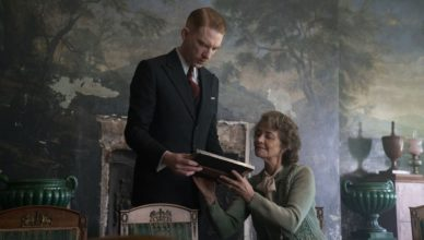 The Little Stranger : Photo Charlotte Rampling, Domhnall Gleeson