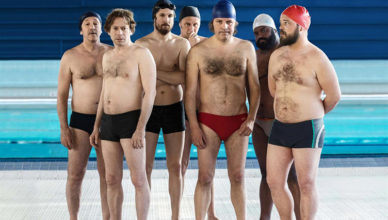 Le Grand Bain : Photo Alban Ivanov, Balasingham Thamilchelvan, Benoît Poelvoorde, Guillaume Canet, Jean-Hugues Anglade