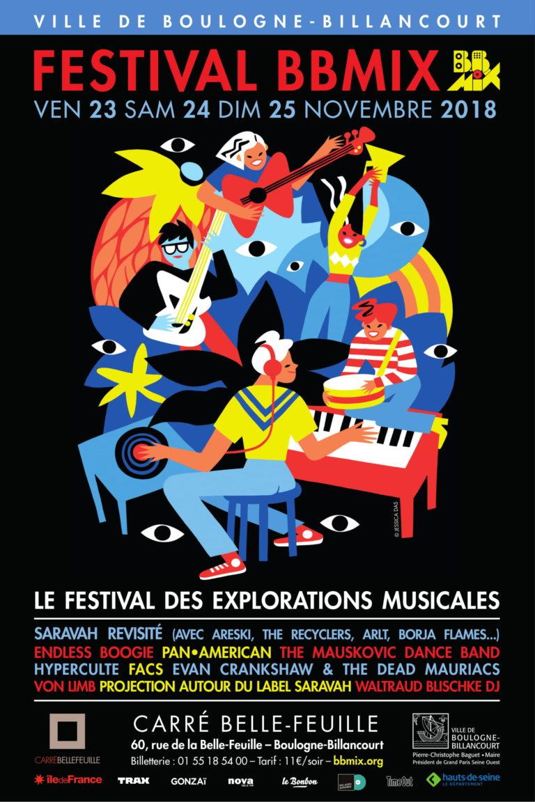 Festival BBmix 2018 affiche