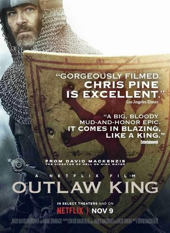 Outlaw King Le roi hors-la-loi Affiche