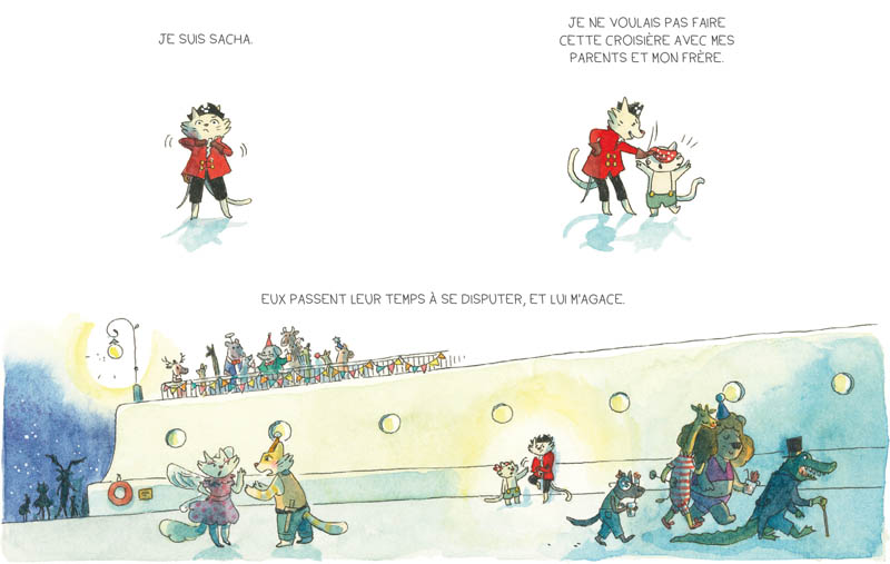 Chroniques de l'île perdue – Loïc Clément & Anne Montel