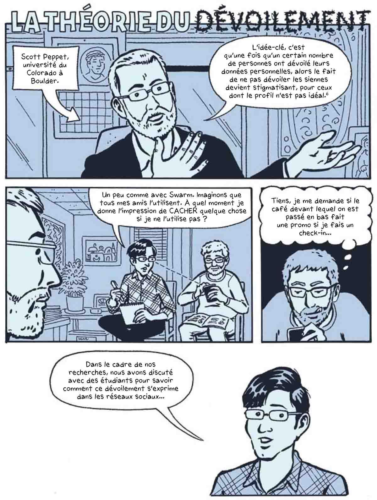 Dans l'ombre de la peur - Le Big Data et nous – Michael Keller et Josh Neufeld