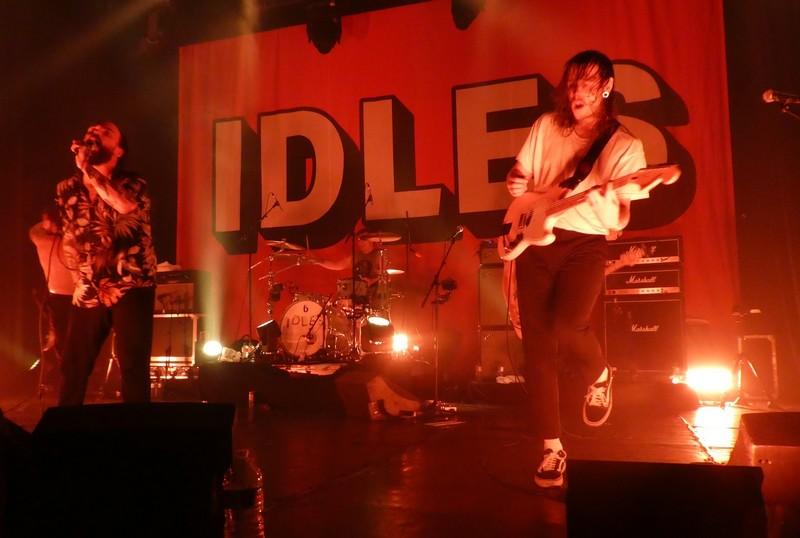 Idles Bataclan - novembre 2018