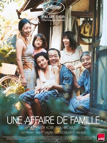 Une Affaire de famille Affiche