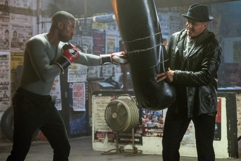 Creed II Photo Michael B. Jordan, Sylvester Stallone
