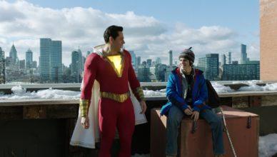 Jack Dylan Grazer et Zachary Levi dans Shazam !