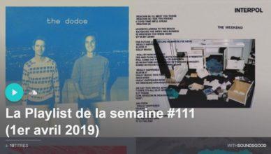 playlist semaine 111