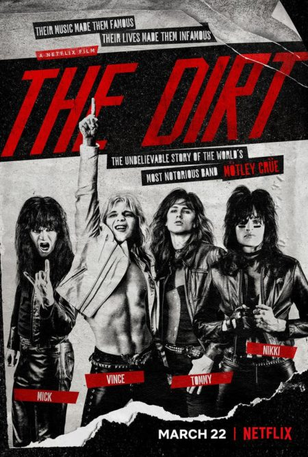 The Dirt, biopic sur Mötley Crüe
