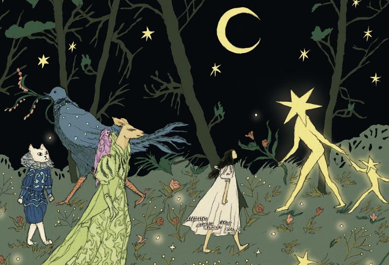 Dans la forêt des lilas – Nathalie Ferlut & Tamia Baudoin