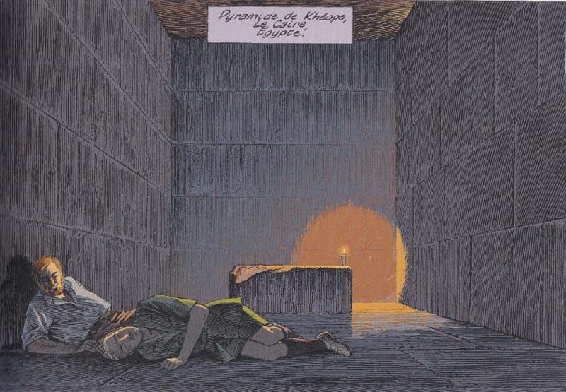 Le Dernier Pharaon -Thomas Gunzig, Jaco Van Dormael et François Schuiten