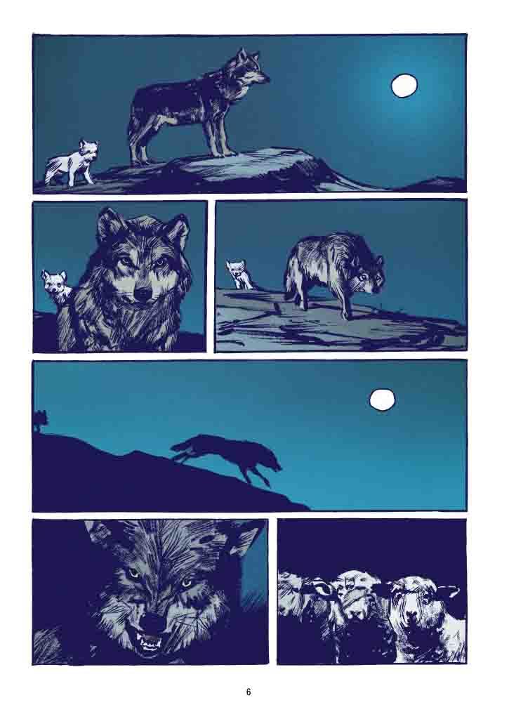 Le Loup – Jean-Marc Rochette