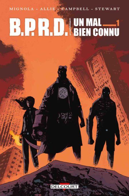B.P.R.D. Un mal bien connu, tome 1 - Mike Mignola, Scott Allie, Laurence Campbell, Sebastián Fiumara