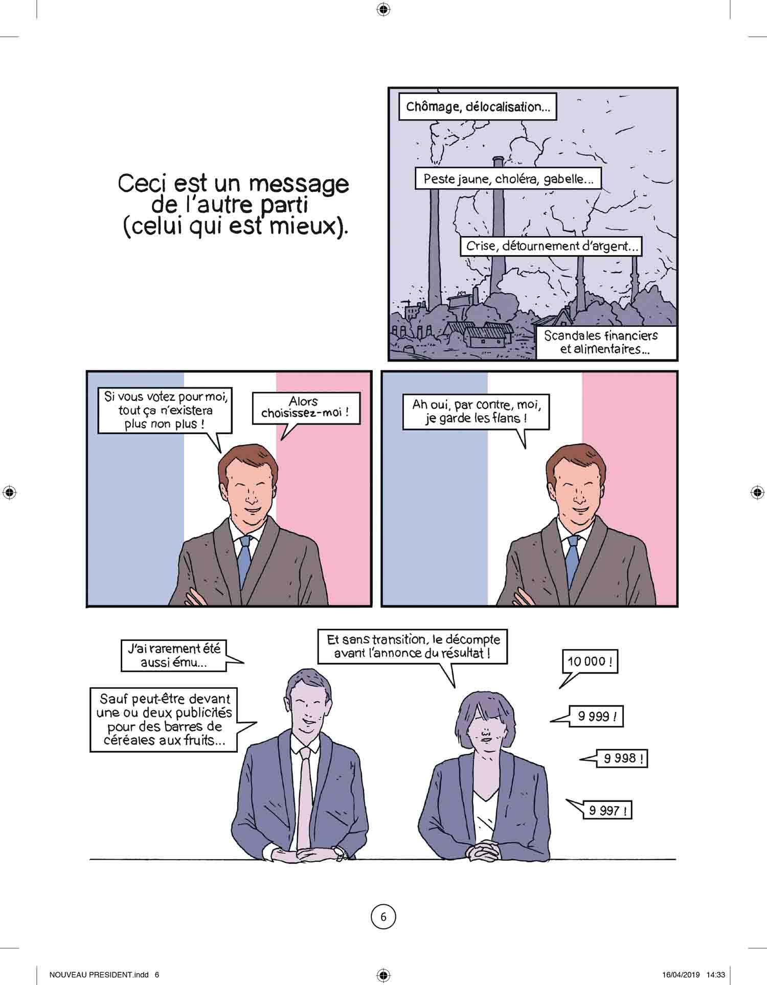 Le Nouveau Président – Yann Rambaud