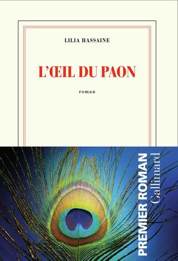 HASSAINE Lilia COUV L'oeil du paon avec jaquette