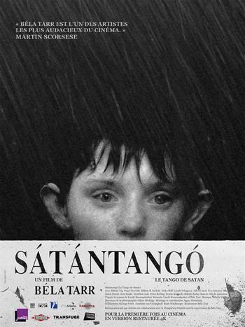 Sátántangó – Béla Tarr affiche