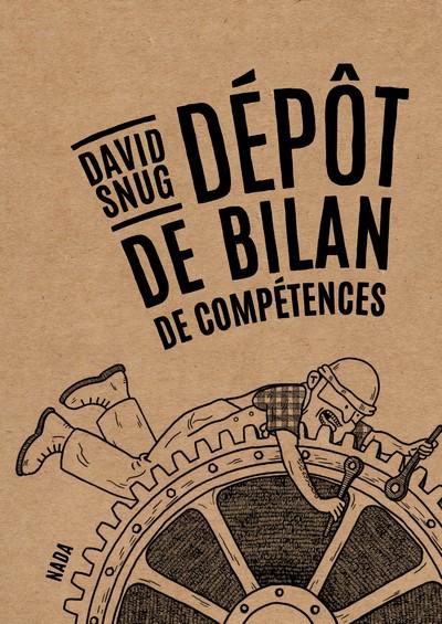 David Snug - Dépôt de bilan de compétences couv