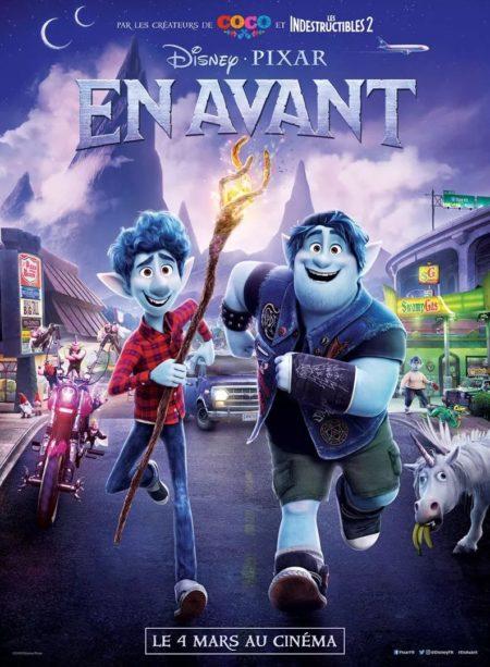 En Avant Pixar Affiche